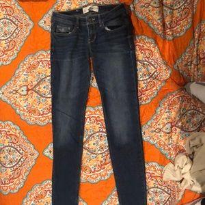 Hollister skinny jeans size 3